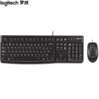 罗技(Logitech)MK120 键鼠套装 有线键鼠套装